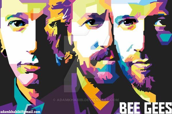 Bee Gees on WPAP by AdamKhabibi