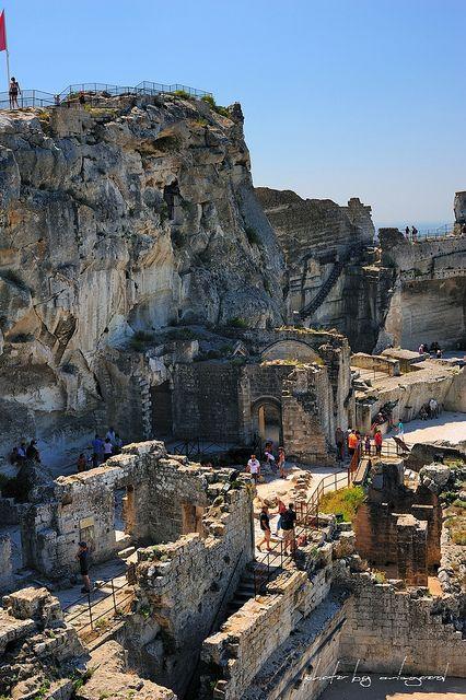 Une forteresse abandonnée aux Baux-de-Provence