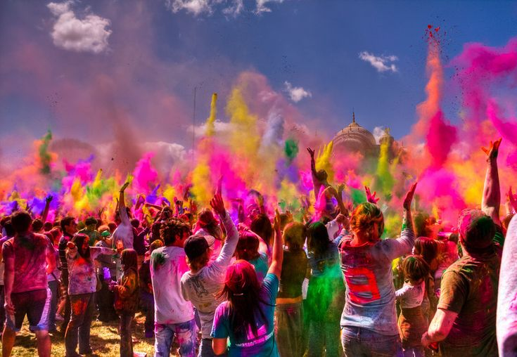 Holi Festival of Colors, Utah: Colour, The Colors Running, Bucketlist, Staging, Buckets Lists, Rainbows, Indian Parties, Holy Festivals, Parties Colors