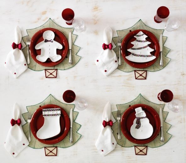 It's beginning to look a lot like Christmas! Set you table with our festive new tartan trimmed party plates.