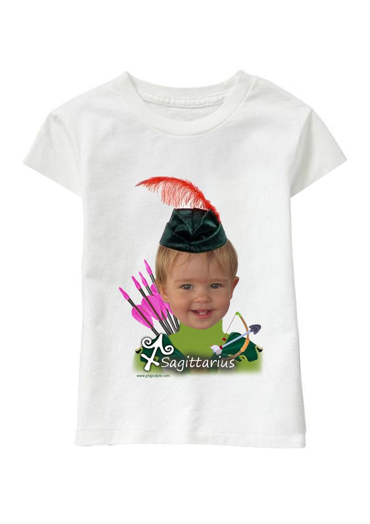 Sagittario Girl personalized T-shirt www.ghigostyle.com
