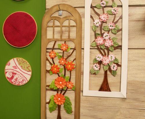 Arte Brasil   Arte Floral em 3D com Apliques - Dalva Machado