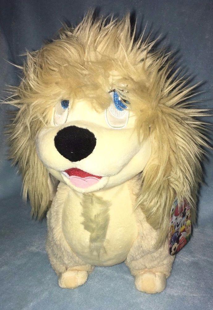 "Rare HTF Disney Lady & the Tramp Peg Dog BNWT 11"" Plush"