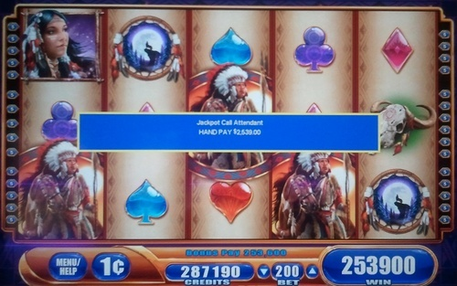 10 free spins on WMS gaming slot great eagle returns pays 2539$ with 2$ bet!