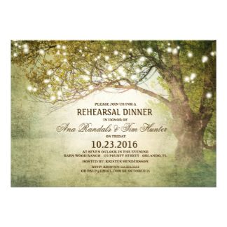 Rehearsal Dinner Invitations | Zazzle