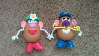 Using Potato Heads to teach heredity and punnett squares