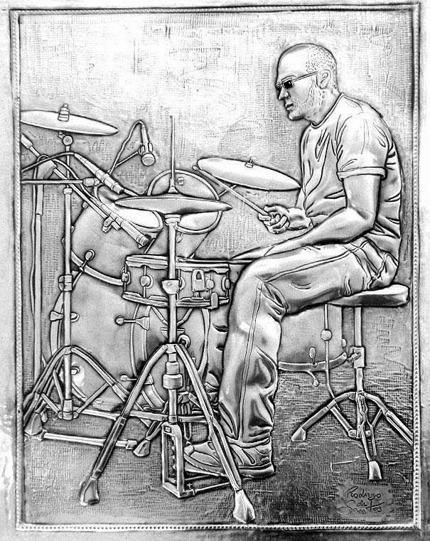 ArteyMetal: Retrato de Rodrigo