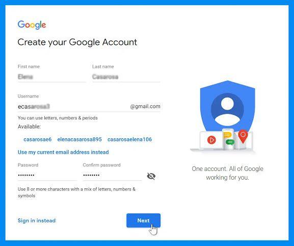 كيفية انشاء حساب Gmail Character Letters Blog First Names