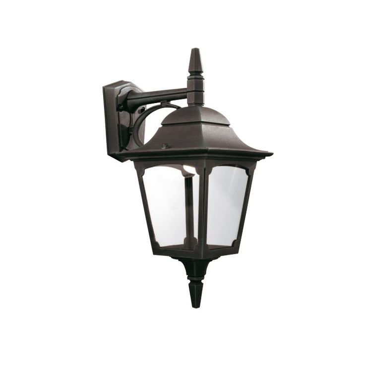Chapel Down Wall Lantern Black - Elstead Lighting