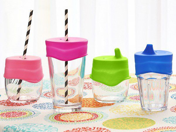Spill Proof Drink Lid By Sipsnaps 20 For A Set Of 3
