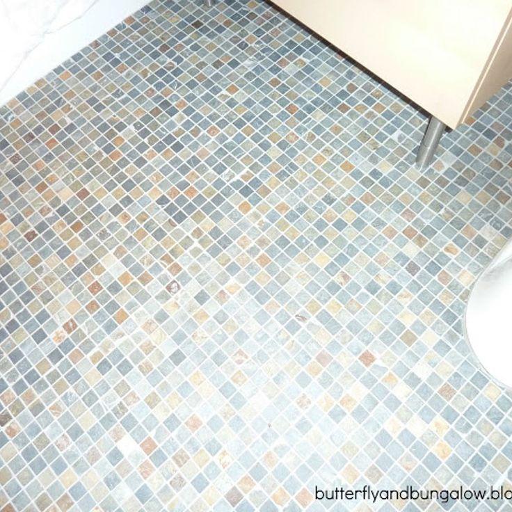 Easy Tile Job for Bathroom Floor