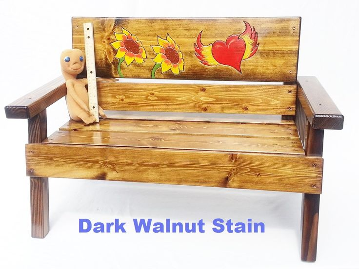 Children Garden Furniture 94 best outdoor furniture for kids images on pinterest babys etsy childrens outdoor furniture wood garden bench kids toddler and up engraved folk art sunflowers workwithnaturefo