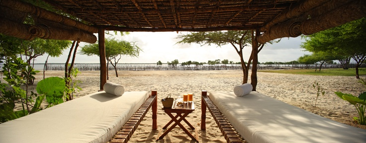 Rustic beach experience at The Red Pepper House, Lamu
