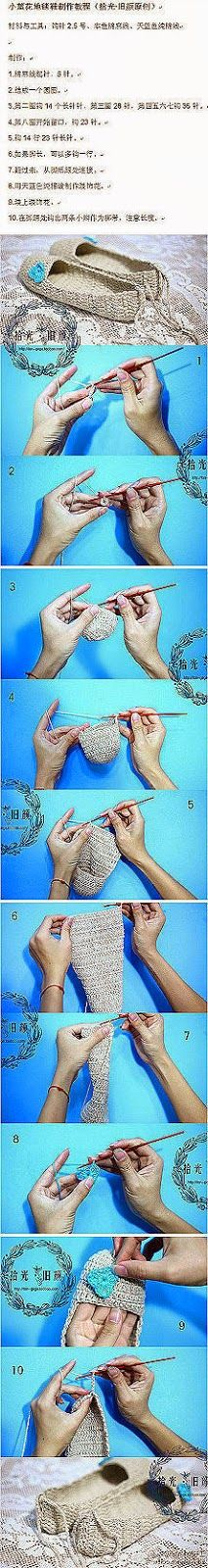 Grace y todo en Crochet: PASO A PASO EN CROCHET...STEP BY STEP IN CROCHET ....