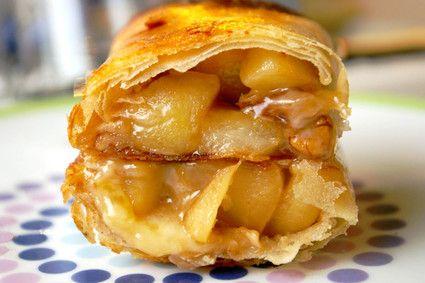 Nems aux pommes et au reblochon : la recette facile