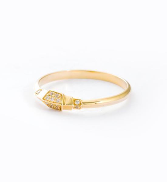 Adoree Diamond Ring: Angle