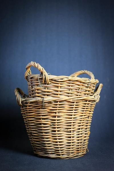 Vintage Fruit Picker's Wicker Baskets