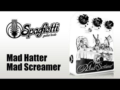 Raffaele Carano Demo Video Mad Hatter Mad Screamer www.spaghettiguitartools.com