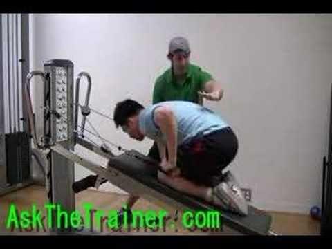 Total Gym Kickbacks - Triceps Toning Exercise   Total Gym ...
