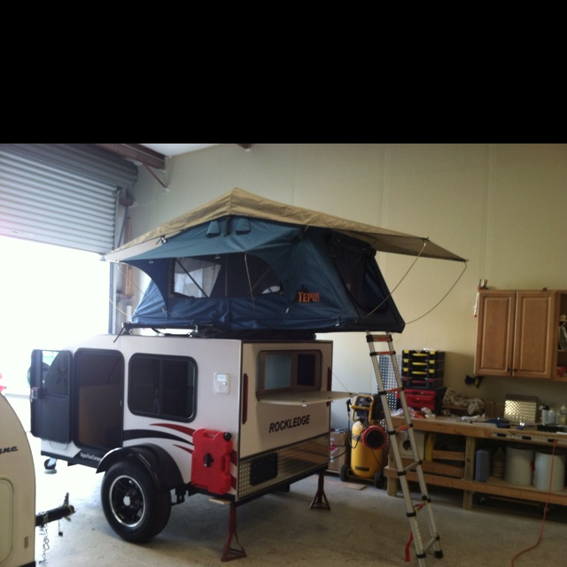 Signatour Campers answer to the family of 4 micro teardrop camper.  Camping and Survival ...