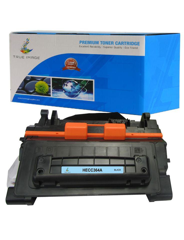 TRUE IMAGE HECC364A Black Toner Replaces HP CC364A