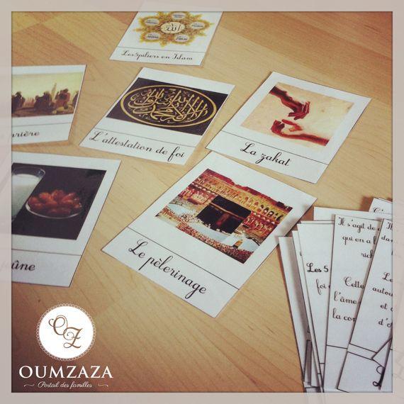 Série de nomenclatures dédiées aux cinq piliers de l'Islam - Oumzaza.fr…