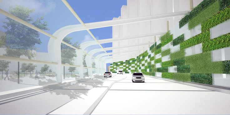 noise barrier green - buscar