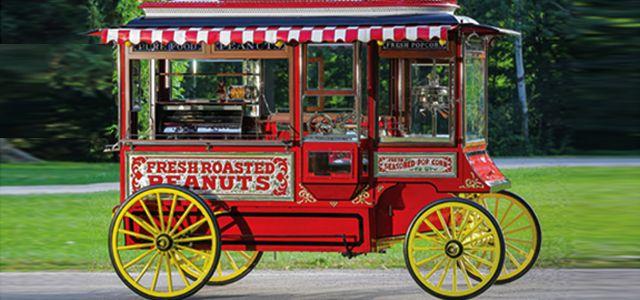 Conheça o carrinho de pipoca de 115.500,00 dólares