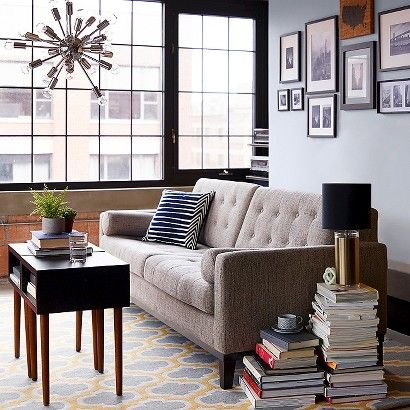 Target: Living Room Updates Collection  I love everything about this living room!
