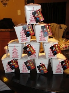 Could use take out boxes as party boxes...cute and inexpensive