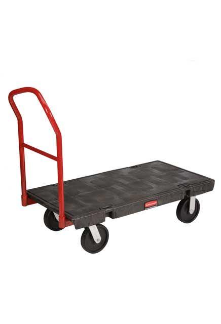 "Handling Truck 24"" X 48"" 2,000 lb: Working cart 24"" X 48"" having a 2,000 lb capacity"