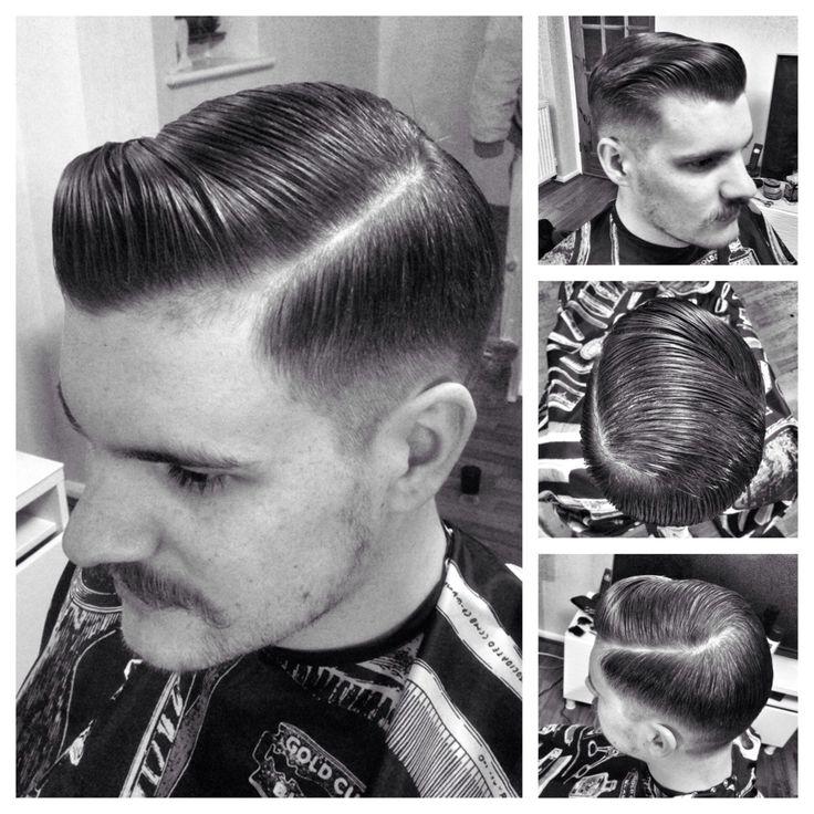 Bona fide pomade mens haircuts short slicked back hair