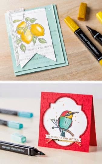 70 best a happy thing stamp set 2015 images on pinterest Handmade Cards Homemade Birthday Cards