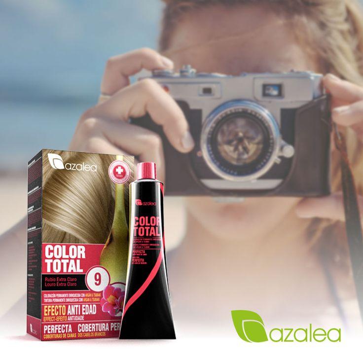 ¿Lista para las vacaciones? 😉 ¡Luce una melena estupenda con #ColorTotal! 👏🏼 Compra tus tintes antes de que te pillen las vacaciones  #AzaleaCosmetics #HairStyle #Peinados #Coloracion #Recogidos #Tendencias #Tinte #Teñir #TintesenCasa #CubreRaíces
