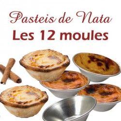 Pasteis de Natas ou de Belem, ces célèbres petits flans portugais sont le symbole de la pâtisserie portugaise.