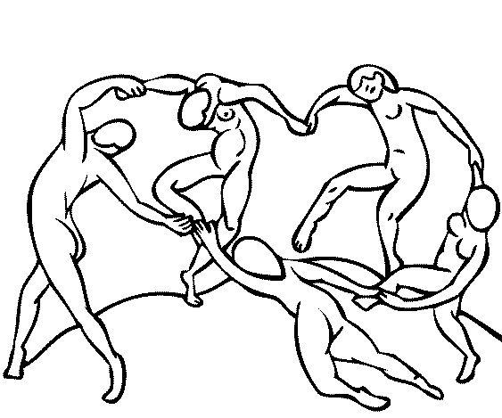 Matisse Para colorear e ilustrar