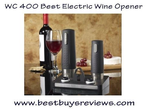 The WC400 Best Electric Wine Opener earned The Best rating from the Hammacher Schlemmer Institute because of its perfect worm insertion and rapid, effortless cork removal #bestelectricwineopener #waringwc400 #waring #wineopener #winepreserver #waringpro #winecenter #wc400 #bestelectricwineopener #winebottleopener #corkscrew #electriccorkscrew #corkscrew #wineopener #winebottle #wine #foilcutter #cork #bar  #winecorkremover