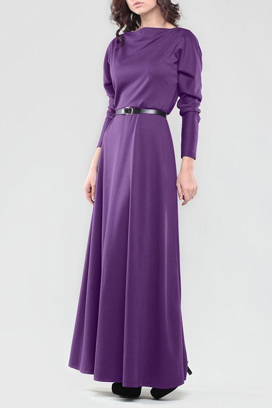 Длинное Фиолетовое Платье Laura Bettini. Чтобы купить, нажмите на картинку.