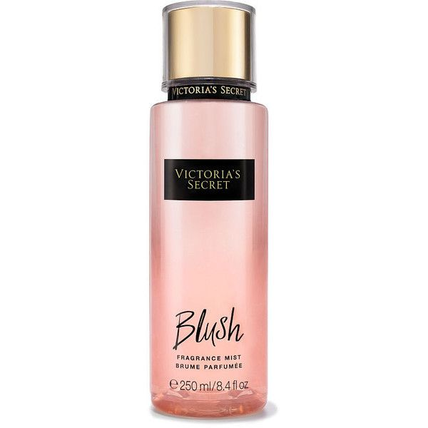 Victoria's Secret Blush Fragrance Mist (285 EGP) ❤ liked on Polyvore featuring beauty products, fragrance, beauty, perfume, victoria secret fragrance, perfume fragrance, flower fragrance, blossom perfume and victoria's secret