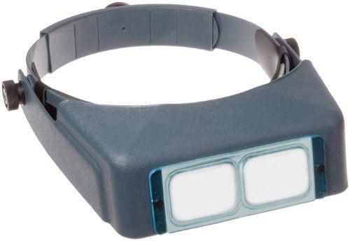"Donegan DA-5 OptiVisor Headband Magnifier, 2.5x Magnification, 8"" Focal Length   Multicityhealth.com  List Price: $29.98 Discount: $0.00 Sale Price: $29.98"