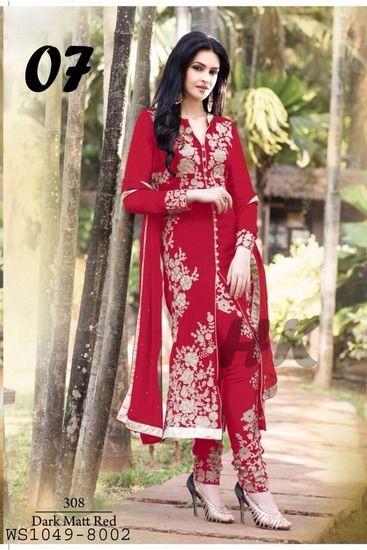 Arjaan Red - Harikrishna Fashion Ethnic suit