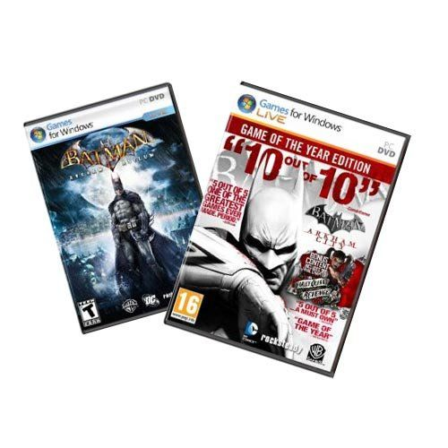 Batman Arkham GOTY Pack [Download] @ niftywarehouse.com