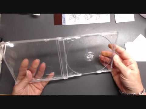 DIY Stamping tool using a Picture frame ( Corky my Faux Misti) - YouTube