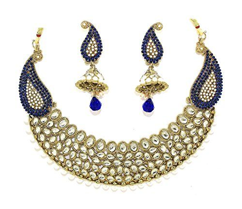 Bollywood Inspired Gorgeous Kundan Blue Color Cz Kundan p... https://www.amazon.com/dp/B01N908E17/ref=cm_sw_r_pi_dp_x_s4yMybDG0YRX9