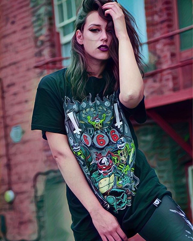 BIRTHDAY SALE - Up to 70% OFF everything online www.crmcclothing.co | Tag a friend 🖤  #tmnt #heroesinahalfshell #turtlepower #cowabunga #ninjaturtles #teenagemutantninjaturtles #blackmetal #blackmetalninjaturtles #cartoons #cartoon #80scartoons #90scartoons #alternative #blackwear #alternativestreetwear #turtle #streetwear #blackmetalchick #hot #corpsepaint #goth #gothgirl #gothmakeup #gothic #blackandwhitehair #sixsixsix #heavymetal #metalgirl #metalchick #deathmetal