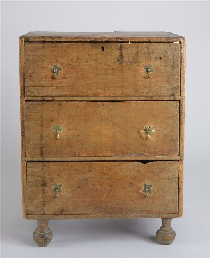 Early 18th C. Chest In Old Scrubbed Surface. Google.com