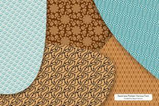 Seamless Patterns Font - Creative Fabrica
