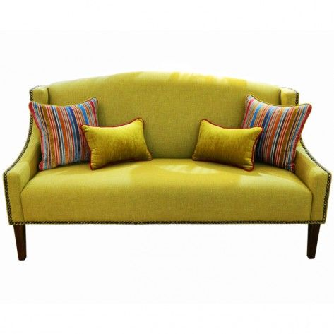 Naturally Timber 'Hampton' 3-seat sofa (1)