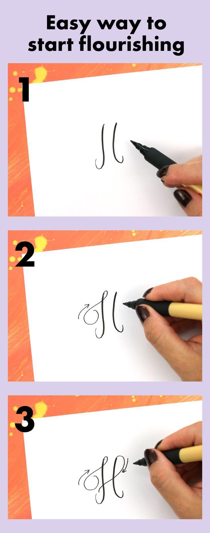 Moderne Kalligraphie: Besser blühen