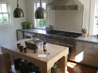 Remember the Farmhouse?    The kitchen in the farmhouse at Blackberry Farm  is lovely and understated.  Encompassing only the footprint of...